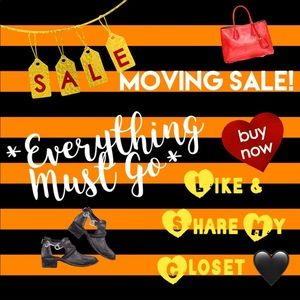 ✨ MOVING SALE!! 20% OFF EVERYTHING !! 🌈